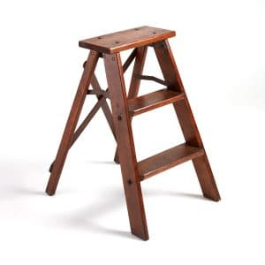 Antique Wood Step Ladder