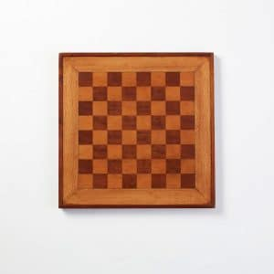 Antique Wood Chessboard 2