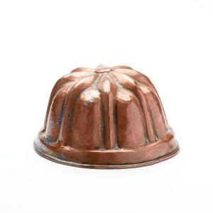 Vintage Copper Cake Mold No.1