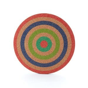 Cork Target Trivet No.2 Medium
