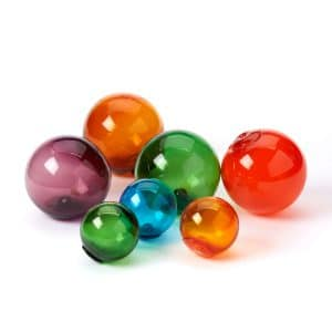 Vintage Colored Glass Floats