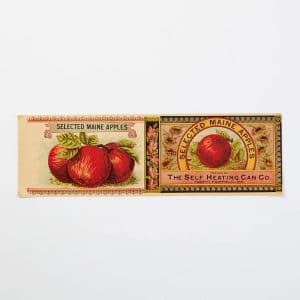 Vintage Apples Label