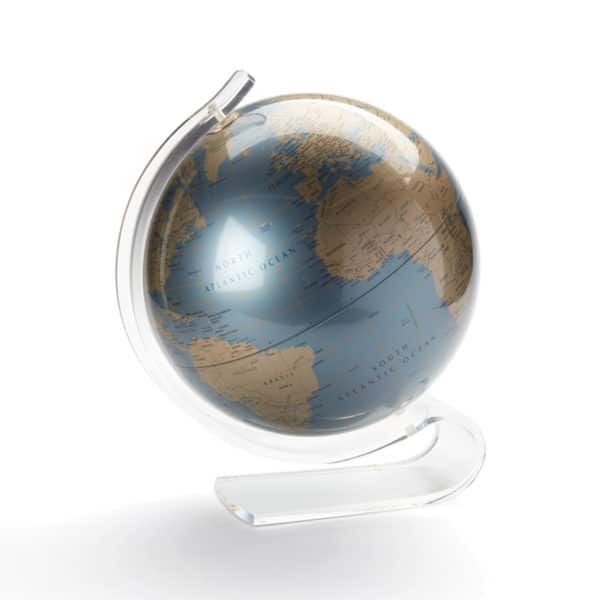 Globe (Vintage 1970's with Lucite Base)