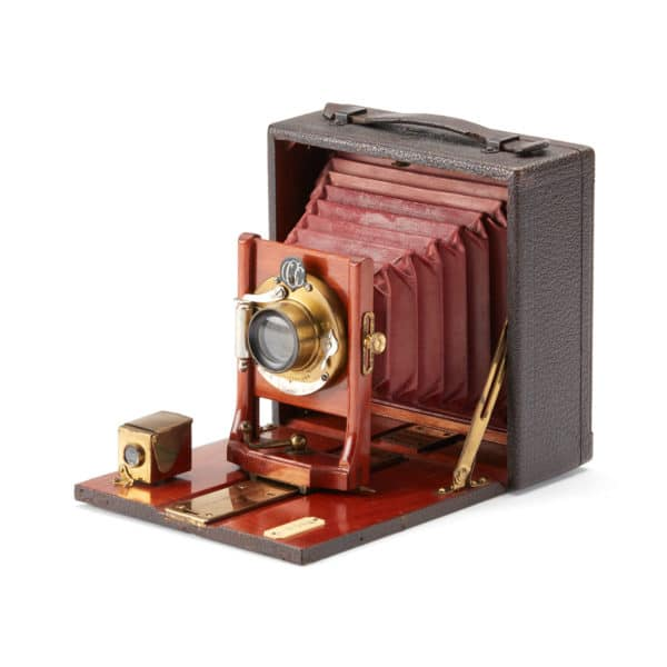 Vintage Early 20th Century 4x5 Plate Camera