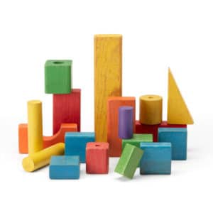 Toy Wood Block Set No.2 (Vintage)