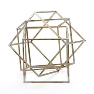 Metal Geometric Sculpure No.1